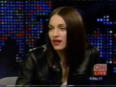 Madonna on Larry King Live 1999 part 1