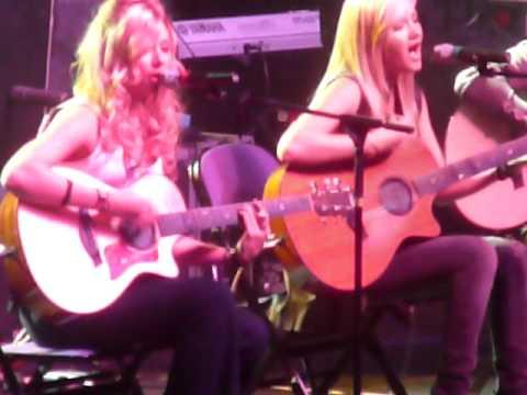 Aly & AJ @ Littlejohn Coliseum-Sept 1,2007