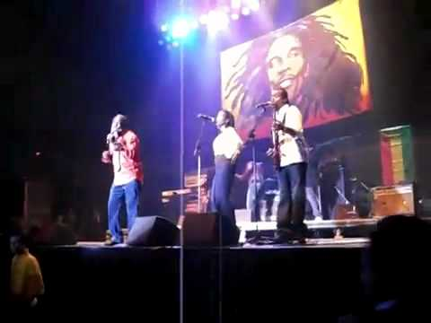 Freddie McGregor Part 1 @ Reggae Legends Tribute 2011