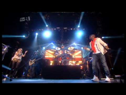 Brit Awards 2011 HD - Tinie Tempah & Ellie Goulding - Wonderman