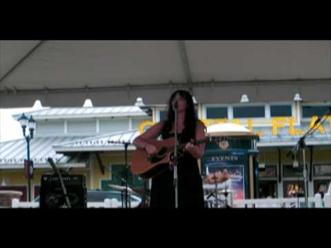 Laura Brino live at Fairfax Corners Summer concert part 3 that was then