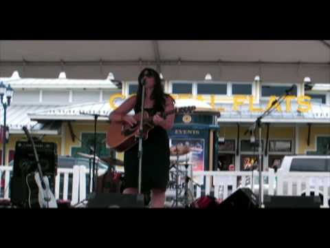 Laura Brino live at Fairfax Corners Summer concert 1 tom said
