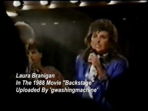"Laura Branigan - ""So Lost Without Your Love"" In The Movie ""Backstage"" (1988)"