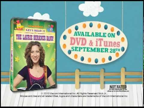 Let`s Hear it for the Laurie Berkner Band: Nick Jr. Commercial