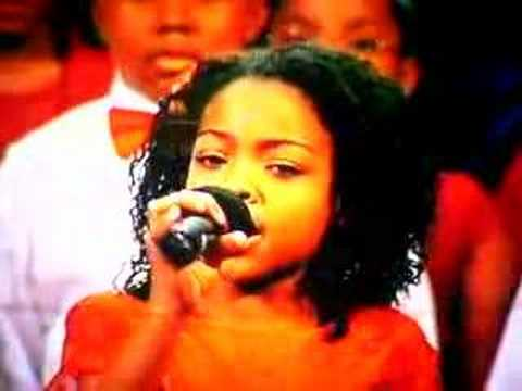 11 yr old Rachel singing Joyful Joyful