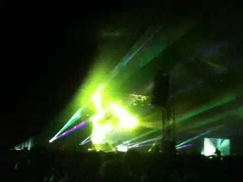 Aphex Twin Live @ LED Festival 28th August 2010