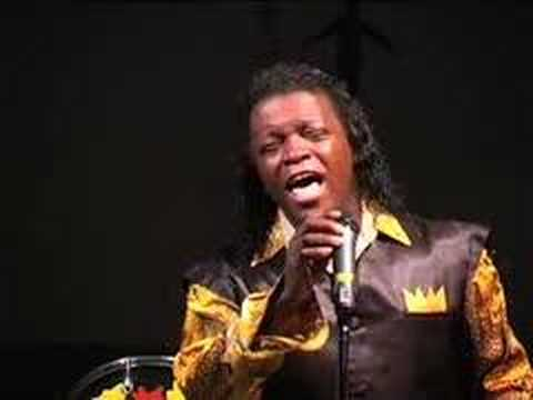 Lee Fields sings Amazing Grace with a Welsh Male Voice choir