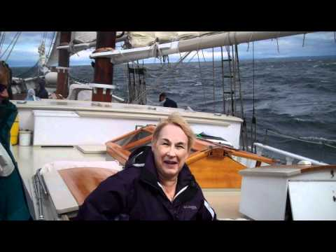Sailing on the Manitou on Grand Traverse Bay