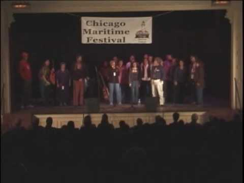 2005 Chicago Maritime Festival - All Hands led by Lee Murdock - Shenandoah