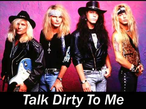 Poison - Talk Dirty To Me (Studio Version)