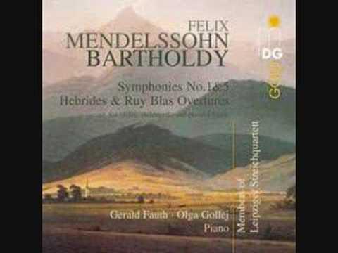 Mendelssohn Orchestral Works (Arrangements)