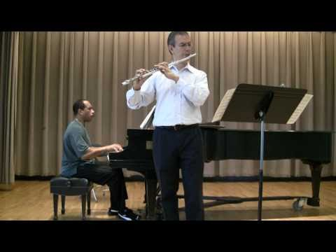 Fiddle Dreams by Paquito D`Rivera for Flute & Piano - Marco Granados & Leon Bates