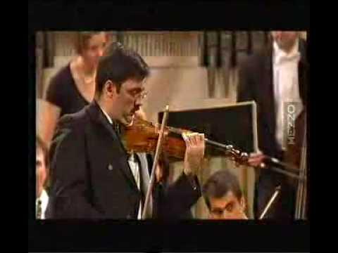 Leonidas Kavakos plays Mozart Violin Concerto in A [1/2]