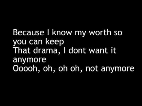 Letoya Luckett - Not Anymore w/ Lyrics