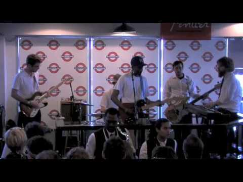 "Black Joe Lewis and the Honeybears ""I`m Broke"" live at Waterloo Records SXSW 2009"