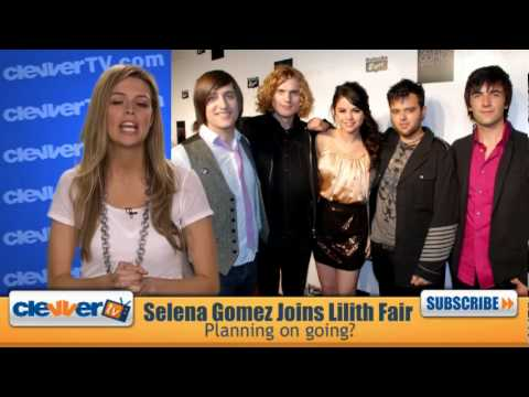 Selena Gomez and the Scene Join Lilith Fair