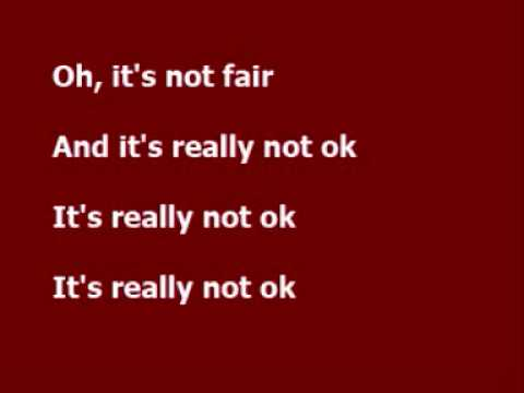 Not fair - Lily Allen lyrics