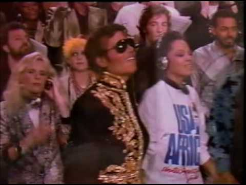 We Are The World - Michael Jackson, Tina Turner, Stevie Wonder, Diana Ross, Lionel Richie and Ray Charles
