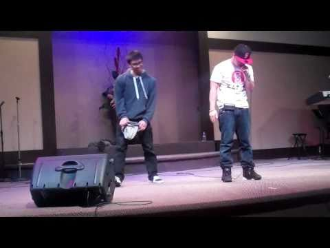 "ANT performing his ""Moment 4 Life"" Remix"