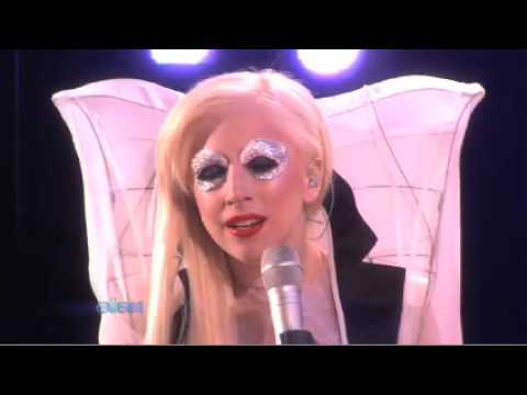 Lady Gaga Speechless Live on The Ellen DeGeneres Show