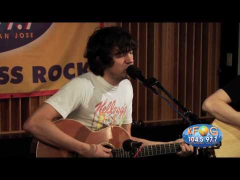 Snow Patrol - Crack The Shutters (Live On KFOG Radio)
