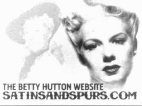 Betty Hutton - Stuff Like That There (1945)