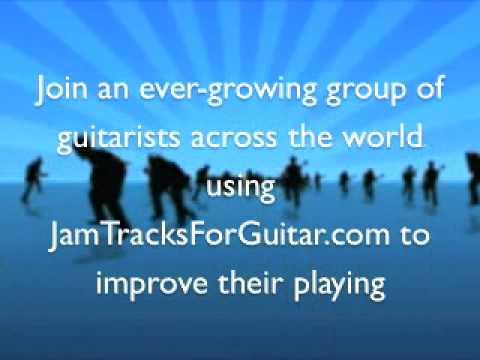 Guitar Jam Track - D Locrian