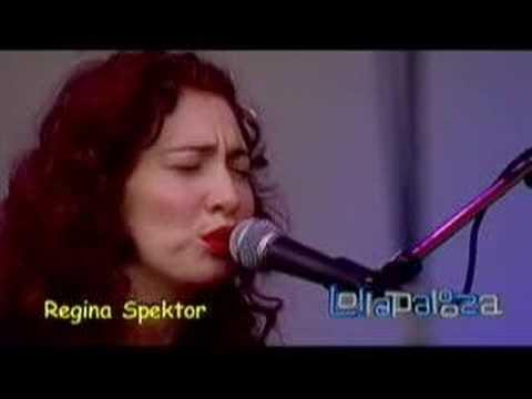 Regina Spektor - Better (Lollapalooza 2007)