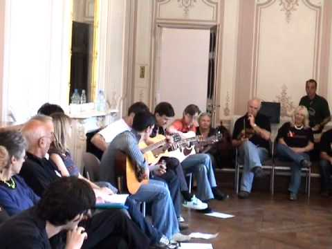 Jim Hunter`s Guitar Class at 2009 London Feis
