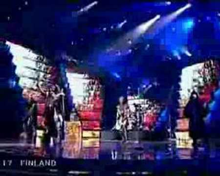 Lordi - Hard Rock Hallelujah - Eurovision final 2006
