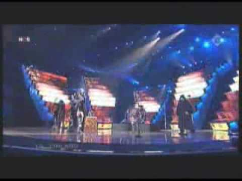 Lordi LIVE at Eurovision Semifinals