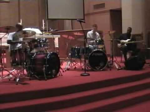 Derico Watson and Jeffrey Jones Shed Session at Drummers for Jesus
