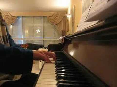 Once In Royal David`s city on piano by Lorie Line