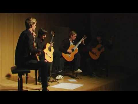"DJM`s Guitar Quartet plays Wayne Siegel: ""East LA Phase"""