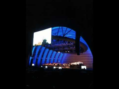 Koyaanisqatsi 2 - Phillip Glass Emsemble, LA Philharmonic & Master Chorale 7/23/09 Hollywood Bowl