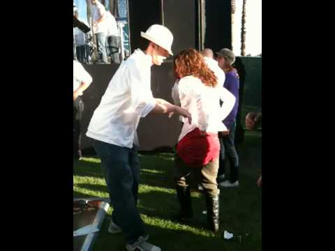Raquel & Noel Salsa dancing in Echo Parque