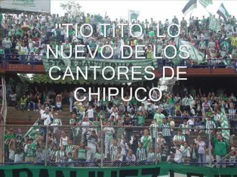 """LO NUEVO DE LOS CANTORES DE CHIPUCO """"TIO TITO"""""""