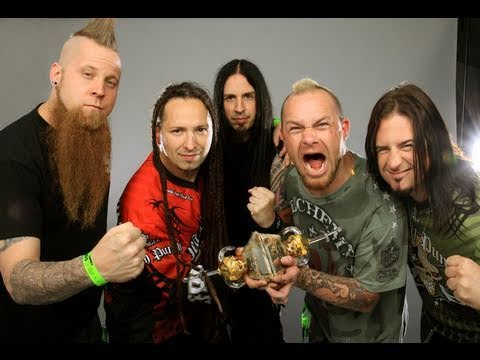 "THE HAUNTED ""RAVE"" FIVE FINGER DEATH PUNCH/LOSING SCARLET"