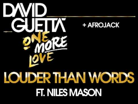 David Guetta & Afrojack - Louder Than Words