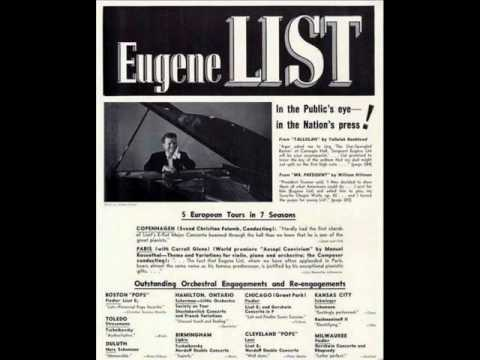 Eugene List: Piano Concerto in C major, K. 467 - Movement 2 (Mozart)