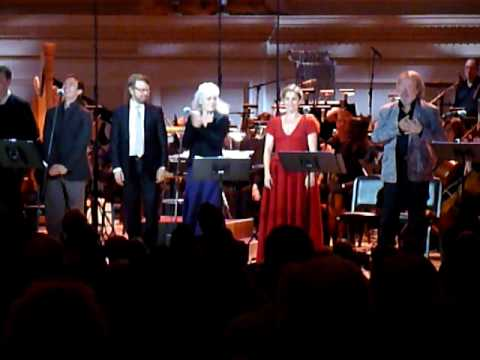 Kristina curtain call encore first night 23/9/09 Carnegie Hall