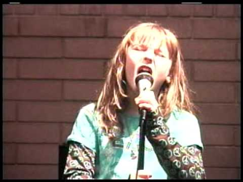 "J`Rose singing ""Heart Song"" A Voice for Adoption"