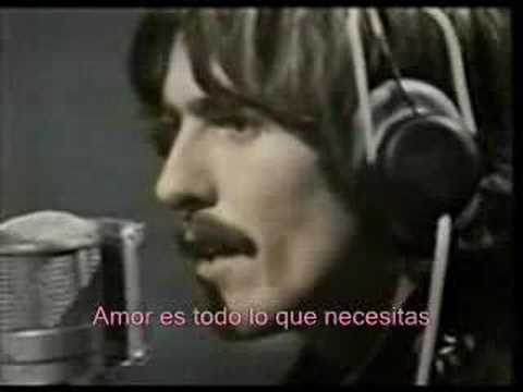 The Beatles - All You Need Is Love - Subtitulado en Espa�ol