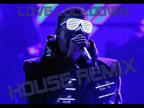 KANYE WEST - LOVE LOCKDOWN (LMFAO ELECTRO CLUB MIX 2009)