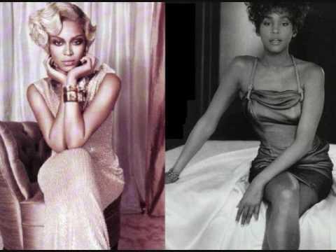 Beyonce vs. Whitney Houston VOCAL BATTLE (Note by Note range: live)