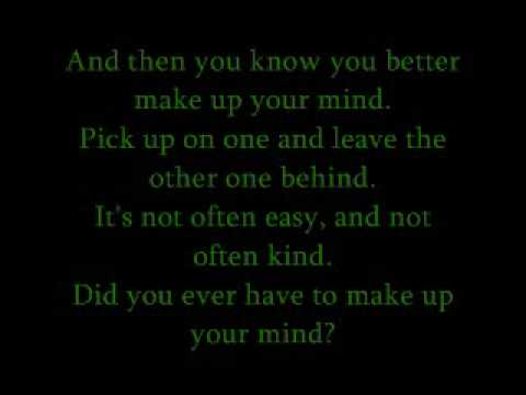 "The Lovin` Spoonful- ""Did You Ever Have to Make up Your Mind?"" (with Lyrics)"