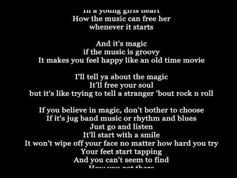 Do You Believe In Magic - The Lovin` Spoonful - Lyrics