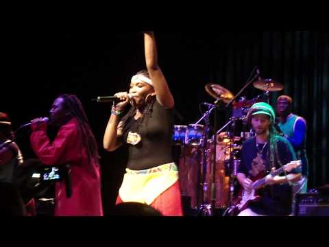 Lucky Dube Celebration Tour 2010 - Nkulee Dube 2 (Daughter of Lucky Dube)11