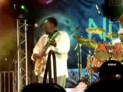 Lucky Peterson aux Nuits Guitares de Beaulieu