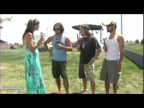 LUKAS NELSON AND THE PROMISE OF THE REAL - Mile High Music Festival 2009 interview